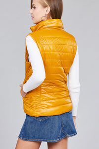 Sadie Quilted Vest | More Colors