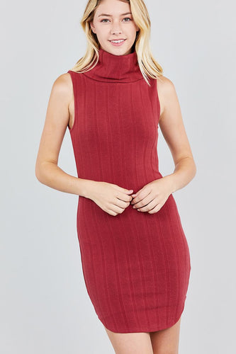 Ivy Cowl Neck Mini Dress | More Colors