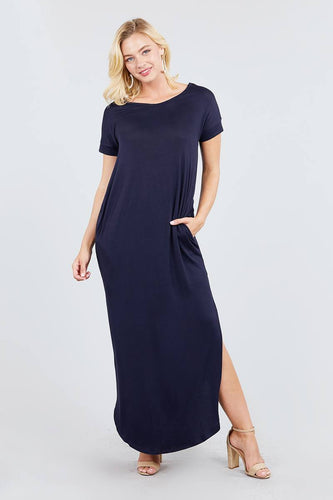 Journey Side Split Maxi Dress | More Colors