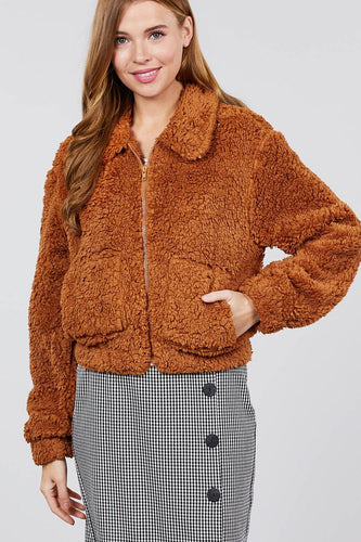 Layla Teddy Jacket | More Colors