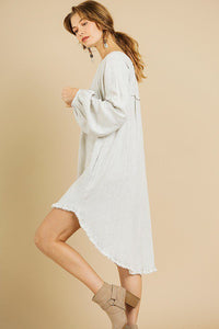 Zoe Linen Blend Dress | More Colors