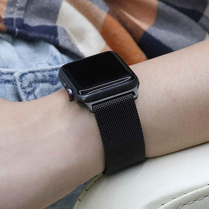 Correa Pulso Apple Watch Milan - Negro