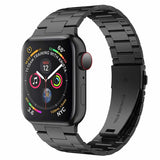 Correa Pulso Apple Watch Three Links - Negro