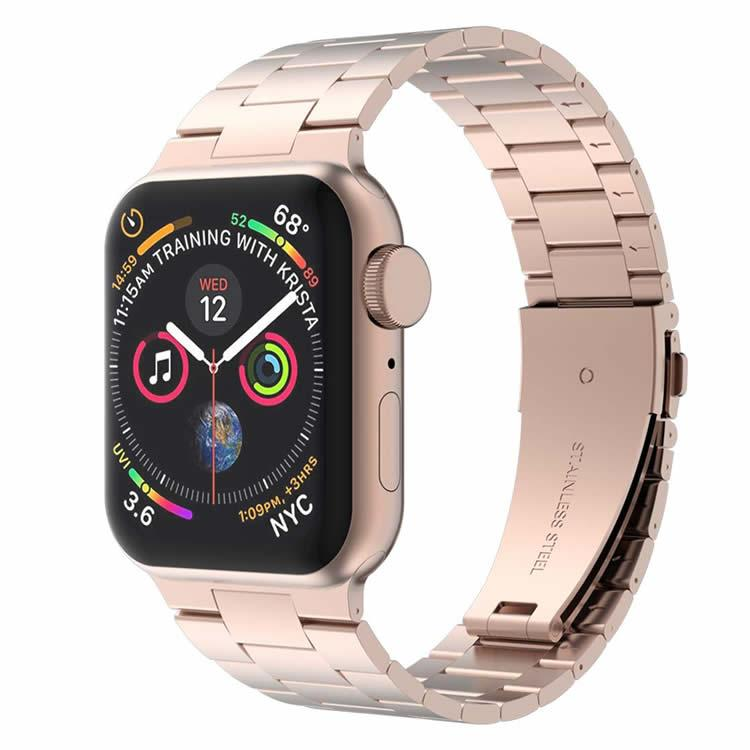 Correa Pulso Apple Watch Three Links - Rose Gold