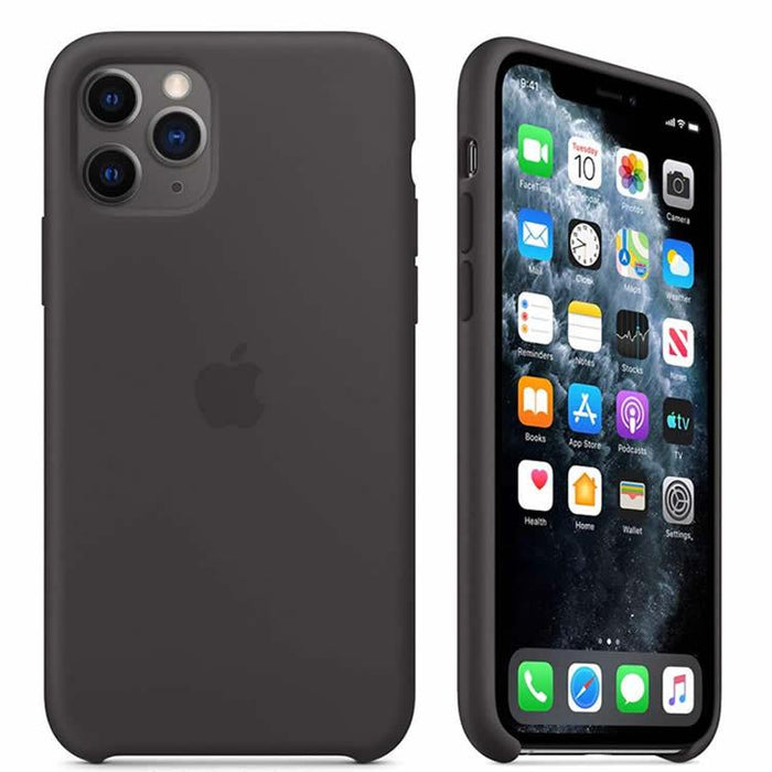 Case Funda Silicona Líquida para iPhone - Negro