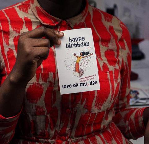 Birthday Card - Love of my life (she)
