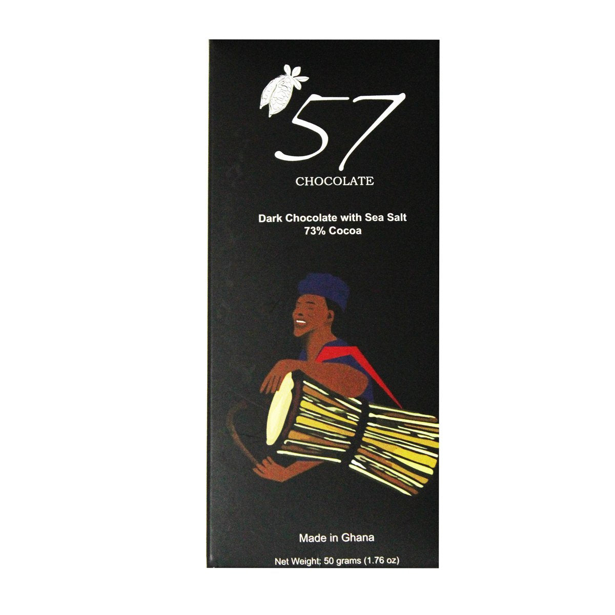 57 Chocolate 73% dark chocolate (Sea Salt)