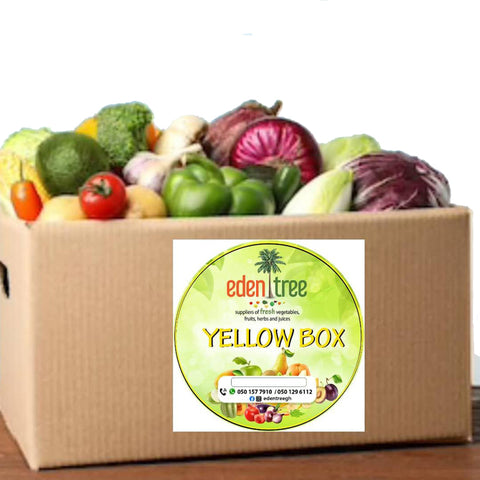 Eden Tree Fruits and Vegetables - Yellow Box