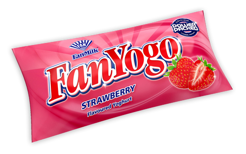 FANYOGO STRAWBERRY POUCH (145 ML)