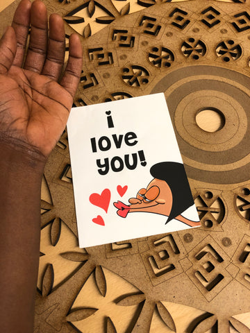 Love Themed Gift Card - I love you (She)
