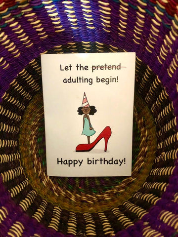 Birthday Card - Adulting