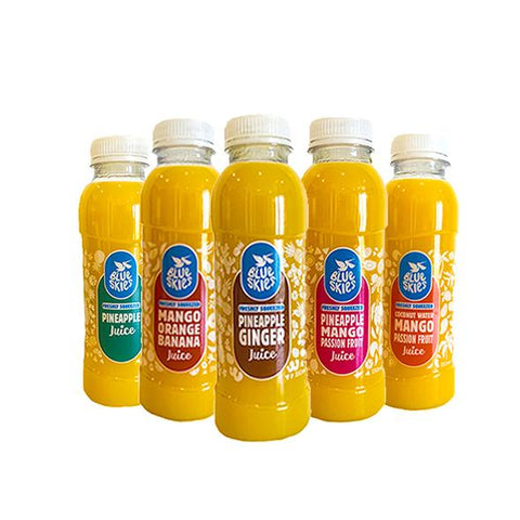 Blue Skies Get 5 Juices 350 ML (Bundle & Save)
