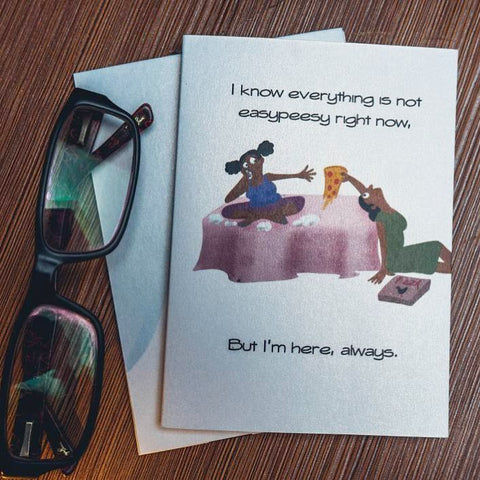 Card for Encouragement - I'm Here For You