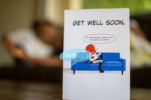 Card for Encouragement - Get Well Soon
