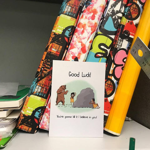 Card for Encouragement - Good Luck