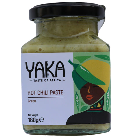 Green Hot Chilli Paste