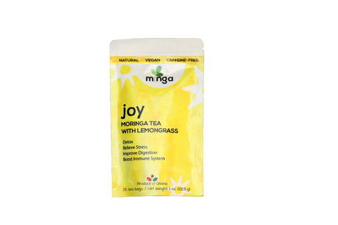 Minga Moringa Lemongrass Tea (Joy)