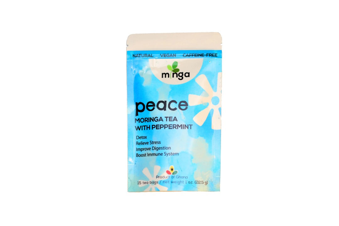 Minga Moringa Peppermint Tea (Peace)