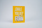 Card for Encouragement - You dey form