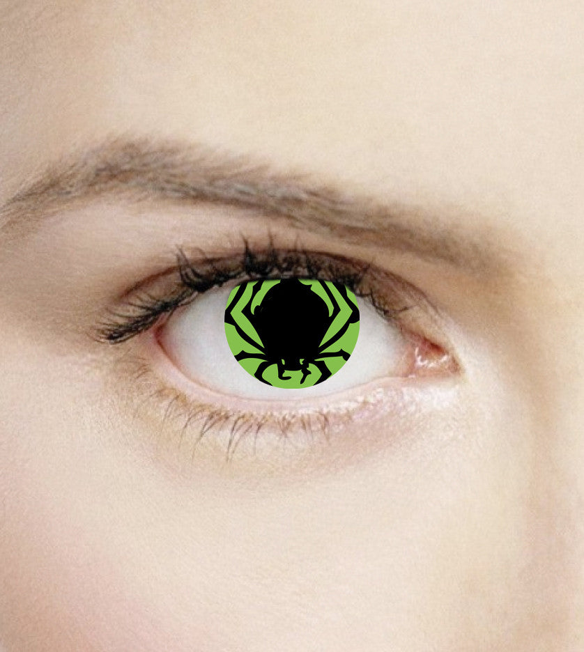 Poison Spider Contact Lenses – Halloween Contacts Lenses Direct