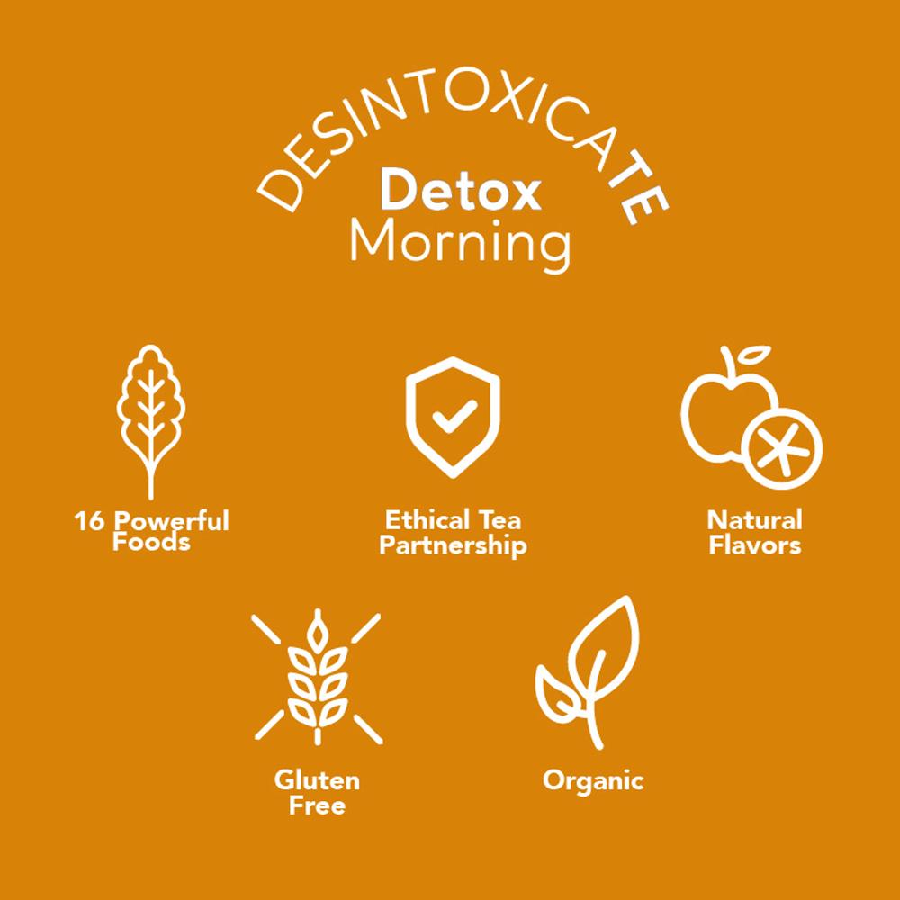 DesintoxicaTE Detox Morning