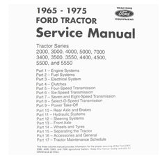 67075 Manual Service Ford 6575