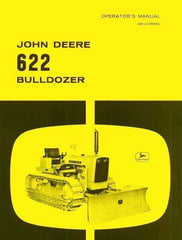 John Deere Model 622 Bulldozer Operators Manual JD