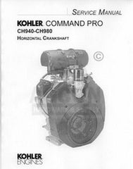 Kohler Command Pro 34 36 38 HP Horizonta Service Manual