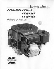 Kohler Command CV15 CV16 CV460-465 CV490 Service Manual