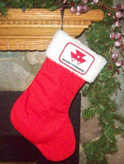 Massey Ferguson Tractor Christmas Stocking Holiday Gift