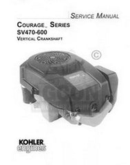 Kohler Courage SV470 SV480 SV530 SV540 Service Manual