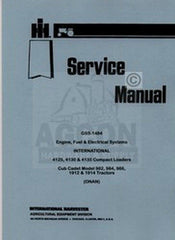 CADET 982 984 986 1912 1914 Onan Engine Service Manual
