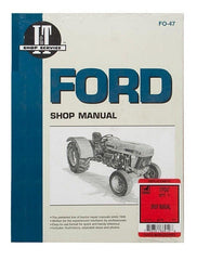 Shop Manual Ford 3230 3430 3930 4630 4830 Tractor