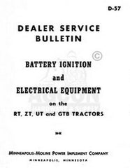 Moline Ignition Electrical RT ZT UT GTB Service Manual