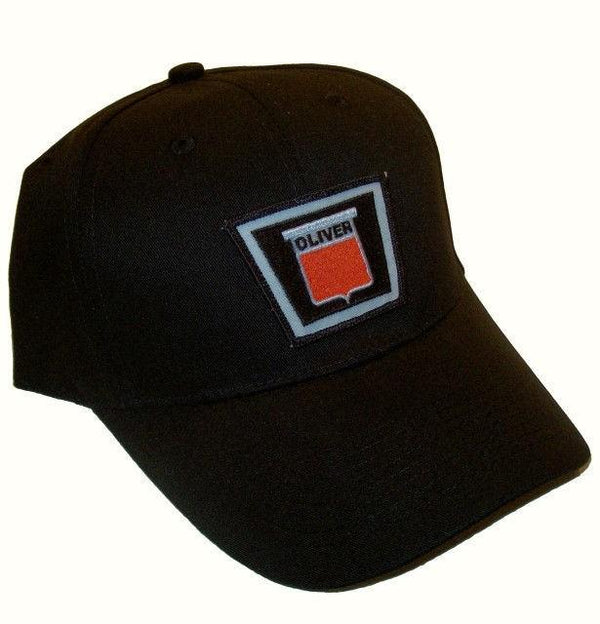 Oliver New Logo Tractor 6 Panel Black Hat - Cap Gift Fits Most