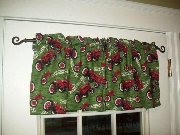International Farmall H and M Tractor Window Valance Gift