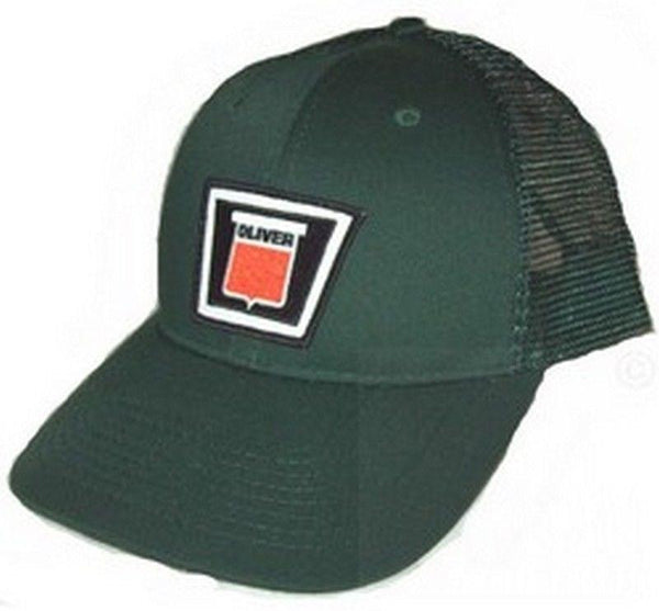 Oliver New Logo Tractor Green Mesh 6p Hat - Cap Gift