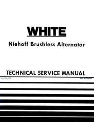 Oliver White Niehoff Brushless Alternator Tractor Service Manual OL