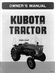 Kubota L260P L260 Owners Operators Manual