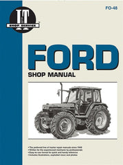 Shop Manual Ford New Holland 5640 6640 7740 7840 8240 8340 Tractor