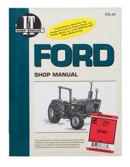 Shop Manual Ford 2310 2600 2610 3600 3610 4100 4110 4600 4600Su 4610 4610Su