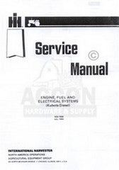 CUB CADET 782 882 Kubota Diesel Engine Service Manual