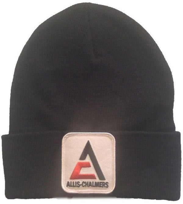 Allis Chalmers Tractor New Logo Black Knit Hat - Gift
