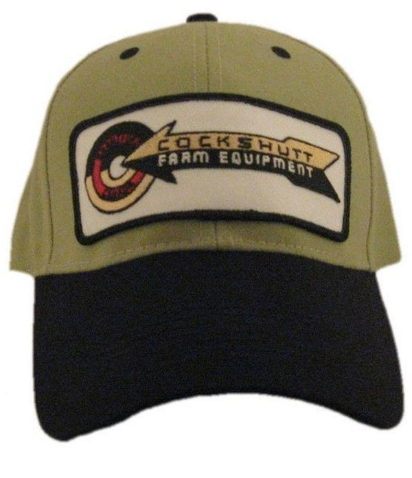 Cockshutt Tractor Khaki and Black Hat - Cap Gift Fits Most