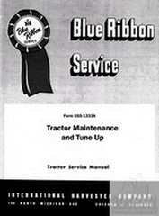 FARMALL IH Tractor Maintenance & Tune Up Service Manual