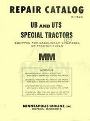Minneapolis Moline UB UTS Repair Manual