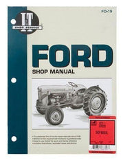 Shop Manual Ford Naa Jubilee Tractor
