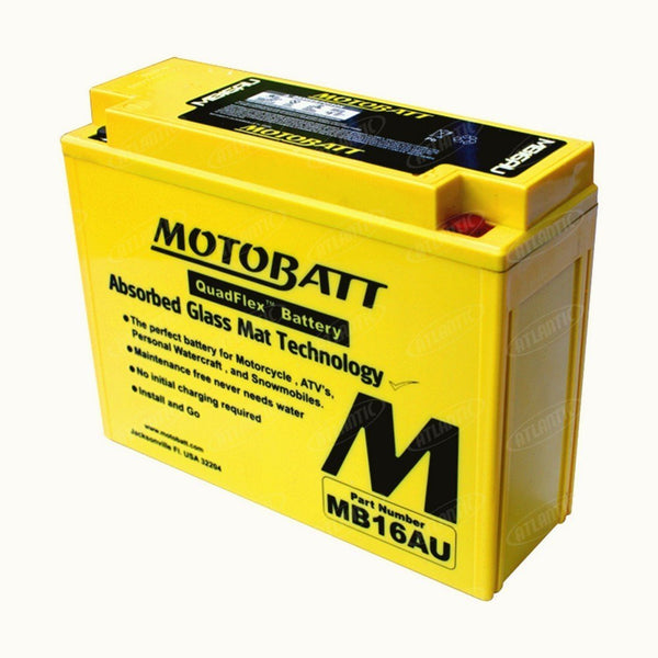 Motobatt Battery fits Various Makes Models Listed Below YB16ALA2