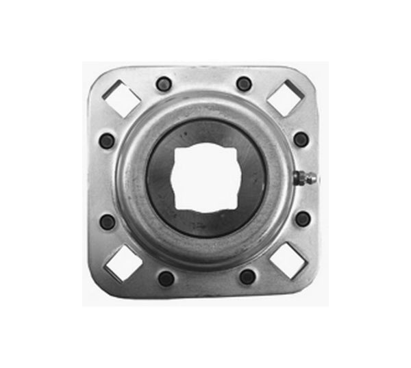 Riveted Flange Disc Harrow Bearing Square Bore Replaces Cnh 84151226 For Rolling