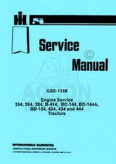 International Farmall T-4 T-5 TC-5 TD-5 TDC-5 500 C E  Engine Service Manual